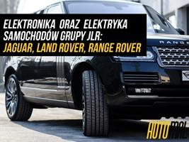 Serwis elektroniki oraz elektryki - Jaguar, Land Rover  Oświęcim