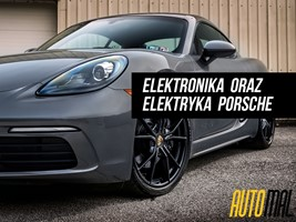 Elektronika oraz elektryka Porsche - Racibórz